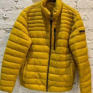 Calvin Klein Men's Packable Down Hooded Jacket